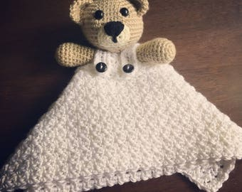 Teddy Security Blanket - Made To Order