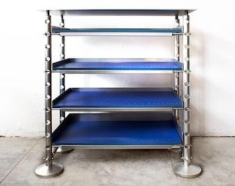Retrofuturism Aluminium Display Shelf