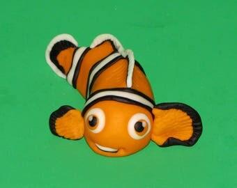 Nemo Clown Fish from Finding Nemo Fondant Edible Cake Topper