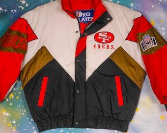 San Francisco 49ERS Pro Player Jacket Size XL