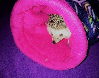 Fleece Tunnel hedgehog guinea pig ferret rat rabbit hamster and other small animals cavy custom