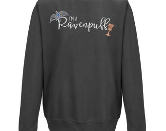 I'm a RAVENPUFF Hogwarts House JUMPER | Unisex Harry Potter Sweater