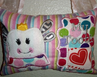 Fairy Tooth Pillow
