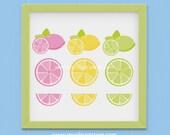 ClipArt - Limonade / geschnitten Zitrusfrüchten Clipart (einzelne Clipart-Bild) - digitale ClipArt (sofortiger Download)