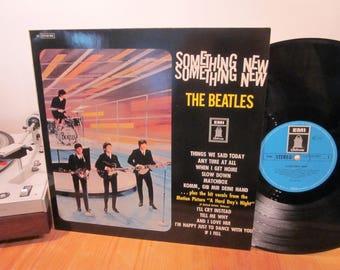 The Beatles - Something New - 1964 - Early Beatles - And I Love Her - John, Paul, George, Ringo - German Pressing