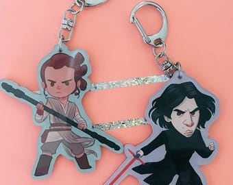 Star Wars Babes | acrylic charms