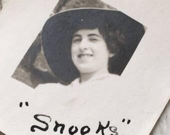 Snooks Vintage Photobooth Photo Edwardian Era