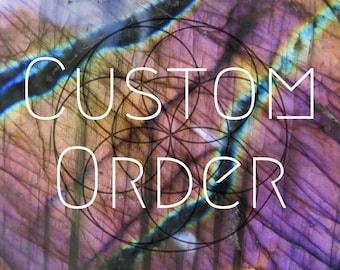 CUSTOM: Shipping Label for Justin