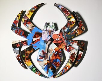 Spider Man logo wall plaque (IN STOCK)