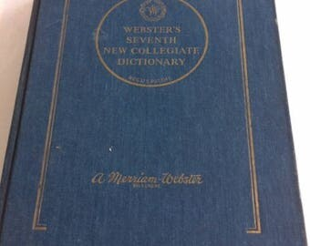 Websters Dictionary 1965