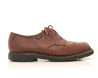 Paraboot brown leather Oxfords shoes  12.5 euro46 / High quality french shoes Paraboot