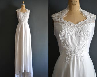 Gwendolyn / 70s wedding dress / 1970s wedding dress