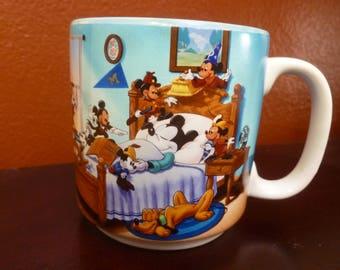 Disney Mickey Mouse mug through the years