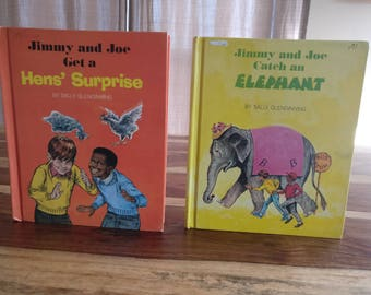 Jimmy and Joe Catch an Elephant and Jimmy and Joe Get a Hen's Surprise by Sally Glendinning
