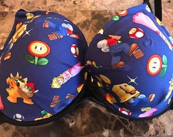 Ready to ship 40C bra super Mario inspired