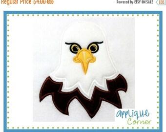 50% Off 206 Eagle applique digital design for embroidery machine by Applique Corner