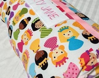 Nap Mat with Pillow and Blanket, Toddler Nap Mat, Preschool Sleeping Mat, Daycare Nap Mat, Princess Nap Mat, Cover Kindermat, Girls Nap Mat
