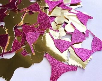 Lingerie Party Confetti Bachelorette Ideas Hen Decor