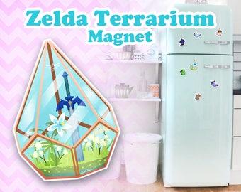 Zelda Terrarium Magnet