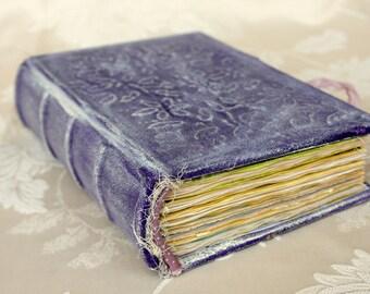 Vintage Junk Journal, Diary, Notebook, Art book, Guest book, Journal