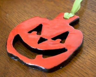 Pumpkin Halloween Ornament