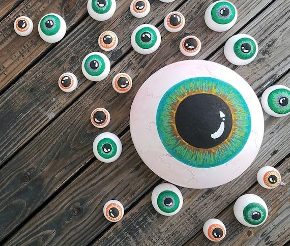 Halloween Wall Art, Eyeball Wall Art, Halloween Prop, Halloween Decor, Eyeball Decor