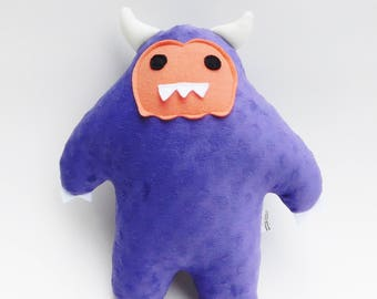Purple Monster Plush