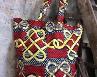 Africa bag, tote bag, tribal bag, ethnic bag, bohemian, boho bag, gypsy bag, hippie bag, colorful bag, for her, India tote