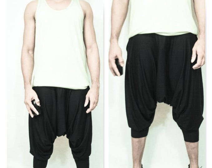 Cropped Harem Pant/Shorts