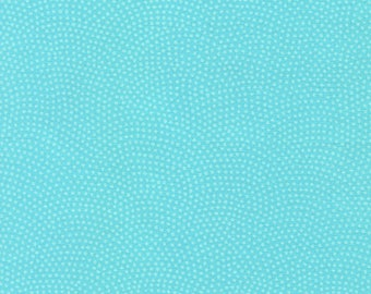 Aqua Dream Dot Fabric/Timeless Treasures/Cotton Quilting Yardage/Aqua, Red, Pink, Green/Clothing Material/Fat Quarter, Half, By the Yard