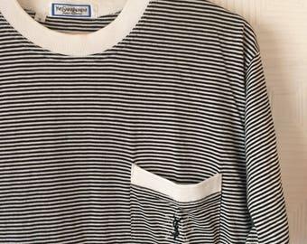 YVES SAINT LAURENT Vintage Tee-shirt , Top Ysl vintage