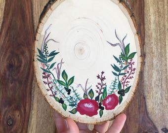 Custom Small Round Wood Slice | Personalized | Gift Idea | Engagement Idea