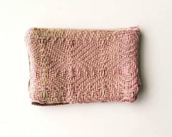 Pink Handwoven Wallet