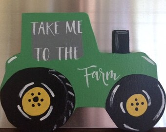 TRACTOR Refrigerator Magnet | Fridge Magnets | Farmhouse Magnets | Kitchen Decor