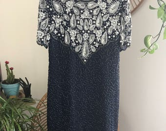 1950's Sequined Party Dress