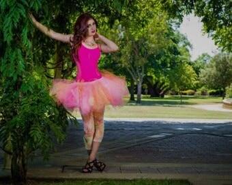 Adult tutu, tutuhot rave raver edc tutu, sewn tutu, adult tutu skirt custom tutu fairy costume fantasy costume  tutu hot festival outfit