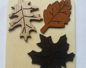Leaf decor and/or ornament