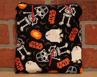 One Sandwich Bag, Reusable Lunch Bags, Waste-Free Lunch, Machine Washable, Star Wars, Sandwich Sacks, item #SS89