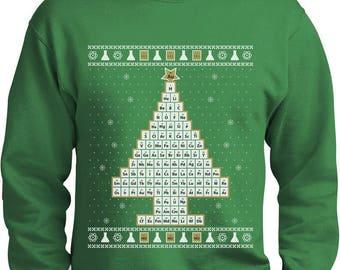 Chemistry sweater   Etsy