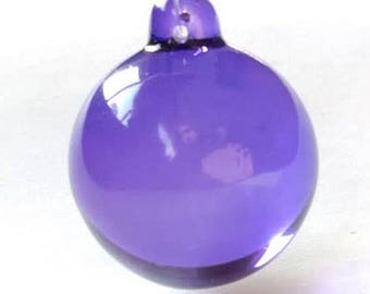 50mm Smooth Violet Purple Ball Chandelier Crystals Wedding Decor