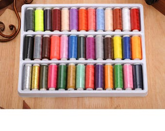 39 x Sewing Threads - Mixed Colors