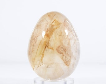 Quartz Hardstone Polished Egg