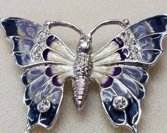 Enamel BUTTERFLY BROOCH/PIN