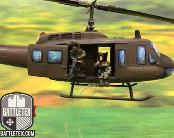 Clear Flying Flight Bases - 3 Pack 3 Heights - Ships Helicopters Planes WWII Vietnam 40k Etc - Terrain - Warhammer  - By Battletex