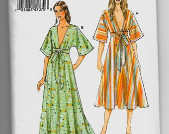 V9253 Vogue Dress Sewing Pattern Sizes 16-26 Rated Very Easy to Make