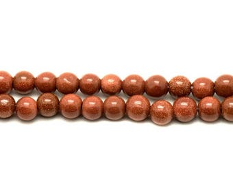 Set of 04 Sun (synthetic) stone beads or 10mm, the choice