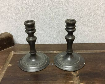 Miniature candlestick holders