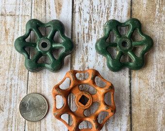 Faucet valve lot, vintage garden, hose garden lot