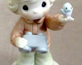 Precious Moments figurine I'm Proud To Be An American 1999