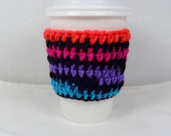 Cup Cozy Crochet Cup Coffee Sleeve